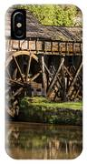 Marby Water Mill  IPhone Case