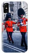 Marching Grenadier Guards IPhone Case