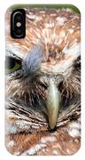 Marco Burrowing Owl - I Know What You're Thinking IPhone Case