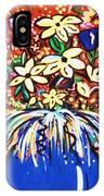 Mardi Gras Floral Explosion IPhone Case