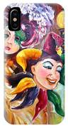 Mardi Gras Images IPhone Case