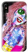 Mardi Gras Lady IPhone Case