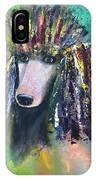 Mardi Gras Poodle IPhone Case