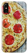 Margarita Pizza With Ingredients IPhone Case