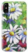 Marguerites 001 IPhone Case