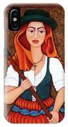 Maria Da Fonte - The Revolt Of Women IPhone Case