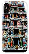 Mariamman Temple 4 IPhone Case