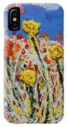 Marigold Flower Garden IPhone Case