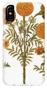 Marigolds, 1613 IPhone Case