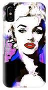 Marilyn In Love IPhone Case