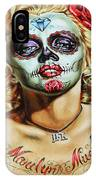 Marilyn Monroe Jfk Day Of The Dead  IPhone Case