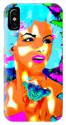 Marilyn Monroe Light And Butterflies IPhone Case