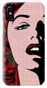 Marilyn02-2 IPhone Case