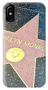 Marilyn's Star IPhone Case