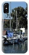 Marina Del Rey California 2 IPhone Case