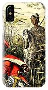Marius Discovered In The Marshes At Minturn IPhone Case