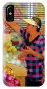 Market At Bensonhurst Brooklyn Ny 2 IPhone Case