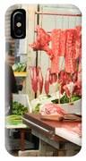 Market Butchery Hong Kong IPhone Case