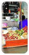 Market In Thailand IPhone Case