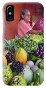market stall in Nicaragua IPhone Case