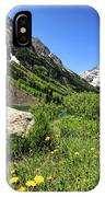 Maroon Bells In Summer 2 IPhone Case