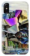 marques de riscal Hotel at sunset - frank gehry IPhone Case