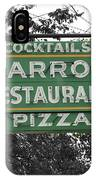 Marro's Restaurant IPhone Case