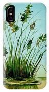 Marsh Weeds IPhone Case
