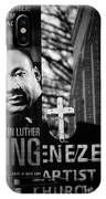 Martin Luther King Day IPhone Case