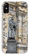 Martin Luther Monument Dresden IPhone Case