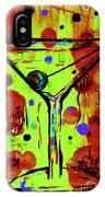 Martini Madness  IPhone Case