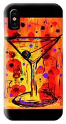 Martini Twentyfive Of Sidzart Pop Art Collection IPhone Case