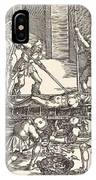 Martyrdom Of Saint Lawrence IPhone Case