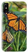 Marvelous Monarchs IPhone Case