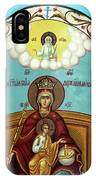 Mary And Jesus In Hebron IPhone Case