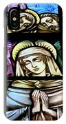 Mary In The Middle IPhone Case