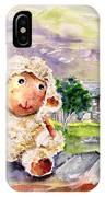 Mary The Scottish Sheep IPhone Case