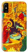 Mary Well Nativity IPhone Case