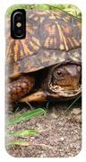 Maryland Box Turtle IPhone Case