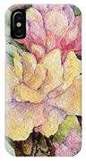 Ma's Roses 1 IPhone Case