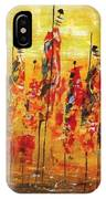 Masai Dance IPhone Case