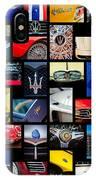 Maserati Art -01 IPhone Case