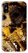 Mask Of Theatre IPhone Case