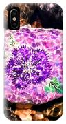 Mason's Purple Flower IPhone Case