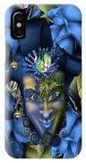 Masquerade Blues IPhone Case