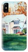 Massachusetts Home IPhone Case
