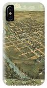 Massillon Ohio 1870 IPhone Case