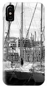 Masts In The Harbor IPhone Case