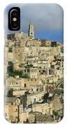 Matera Italy IPhone Case