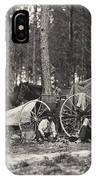 Mathew Brady Wagon IPhone Case